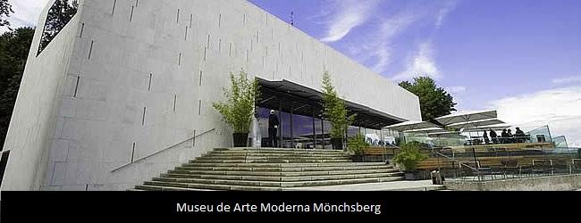 o  Museu de Arte Moderna Mönchsberg
